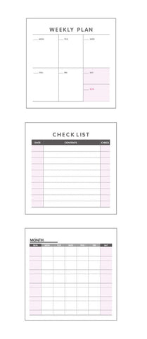 Make Your Plan Sticky Notes