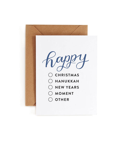 Happy Fill-in-the-Blank Greeting Card