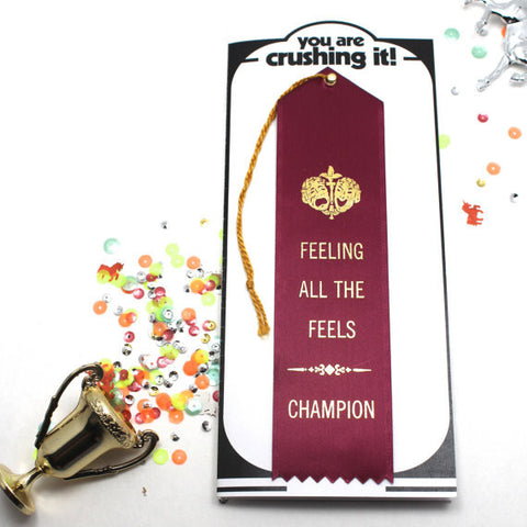 Feeling All The Feels Adulting Award & Card