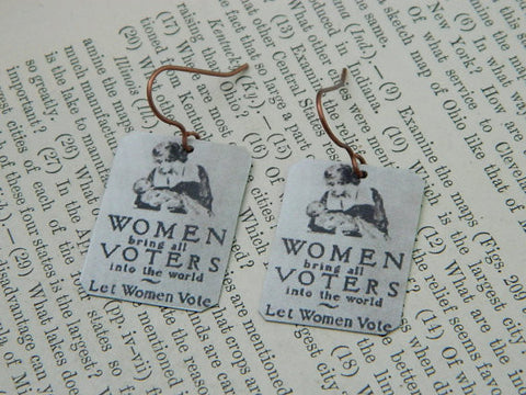 Women Bring All The Voters Into The World Earrings