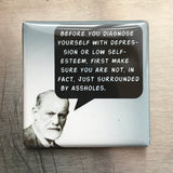 Before You Diagnose Yourself... Fridge Magnet