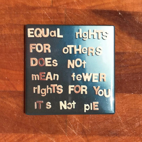 Equal Rights for Others Does Not Mean Fewer Rights For You Fridge Magnet