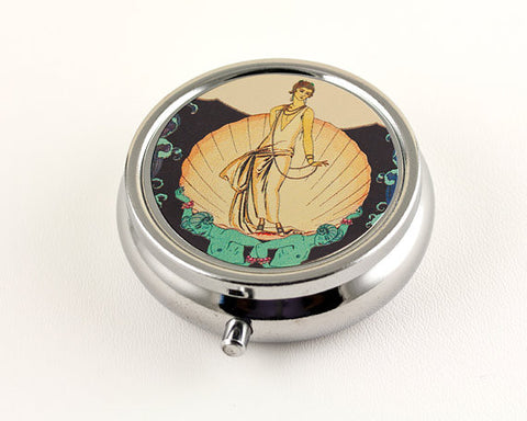 Art Deco Aphrodite Pill Box