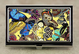 Art Nouveau Business Card Case in Butterfly