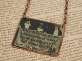 Suffragette Statement Necklace