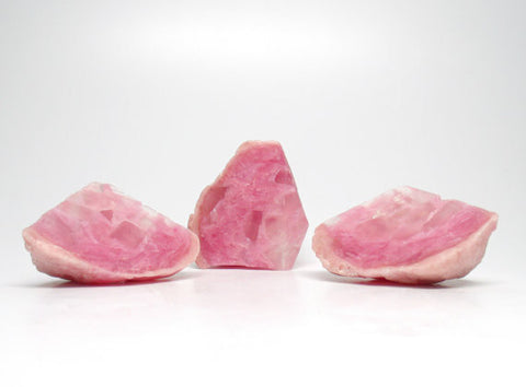Rose Quartz Geode Shaped Soap Set in Rose