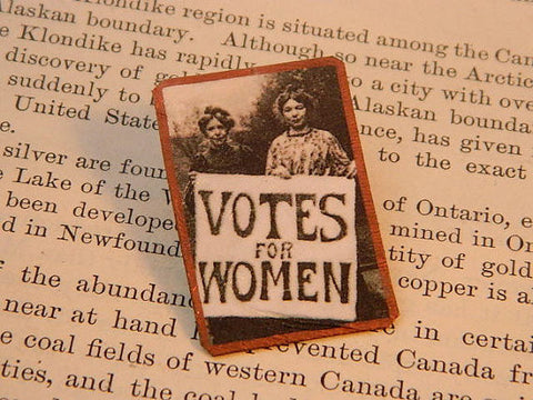 Votes For Women Feminist Lapel Pin