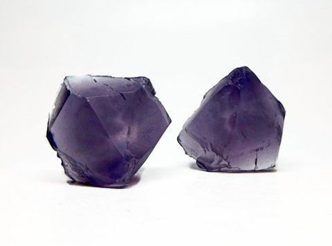 Rough Cut Amethyst Soap Set in Black Raspberry Vanilla