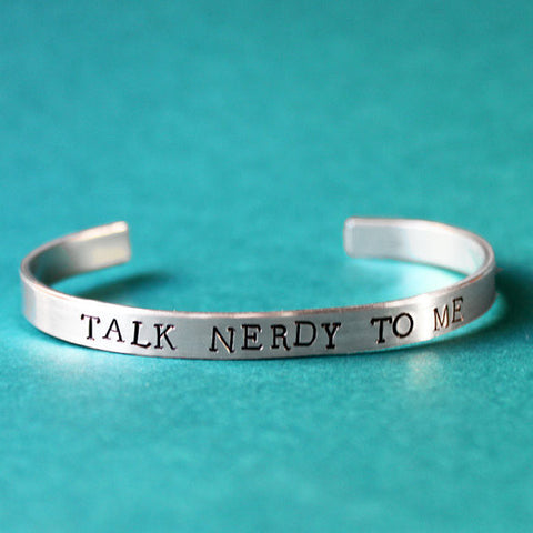Talk Nerdy To Me Bracelet
