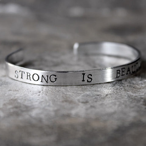 Strong Is Beautiful Bracelet