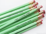 I Need a Fucking Drink Pencil Set in Mint