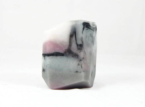 Rhodonite Style Rock Soap Bar in Almond Scent