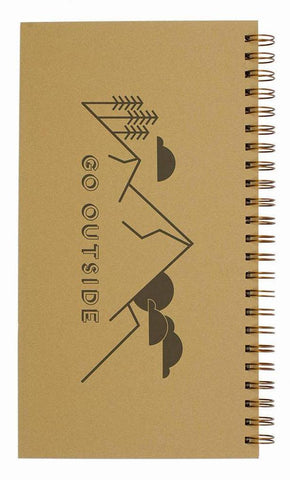 Go Outside Undated Wide Horizontal Weekly Planner