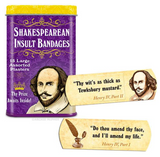 Shakespearean Insult Bandages for Curs, Scoundrels, and Wretches