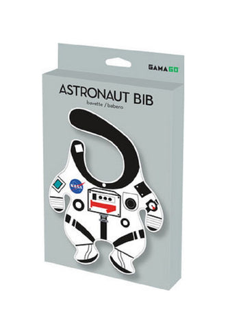 NASA Baby Bib in Astronaut Suit