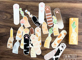 30 Pack of Kitty Paw Bookmarks