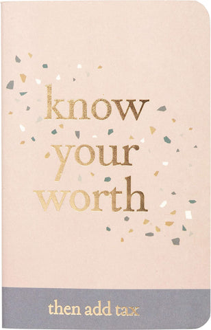 Strong Women Know Your Worth Small Notebook Set
