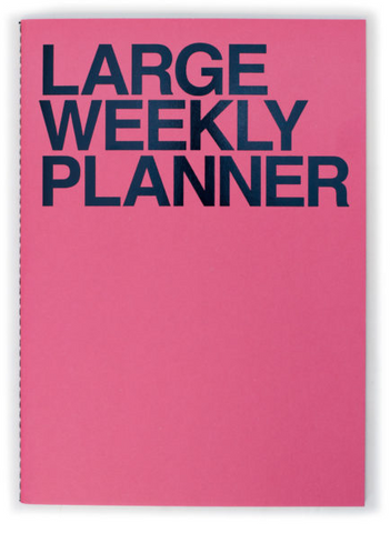 Large Weekly Planner + Cat Calendar Stickers