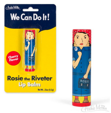 Rosie the Riveter Cherry Flavored Lip Balm