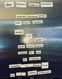 Magnetic (Wo)manifesto Kit: Feminist-ify Your Refrigerator