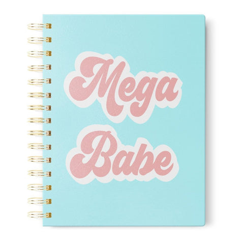 Mega Babe Fuzzy Journal | Soft Blue with Velvety Accents