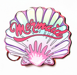 Mermaid Seashell Pink Cute Cool Small/Mini Zip Coin/Change Purse/Bag/Pouch/Wallet