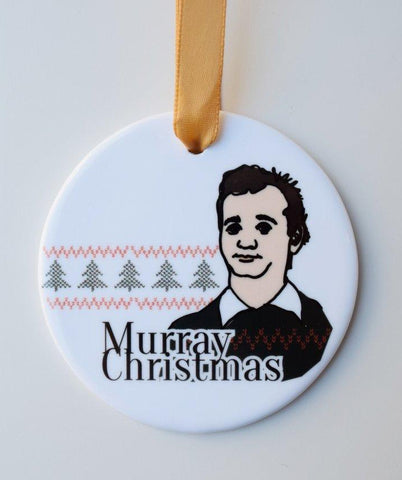 Bill Murray Christmas Ornament