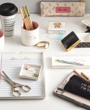 Let's Chat Glam Office Card Holder
