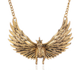 Aggressive Pegasus Statement Necklace