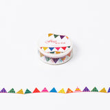 Pennant Flag Washi Tape