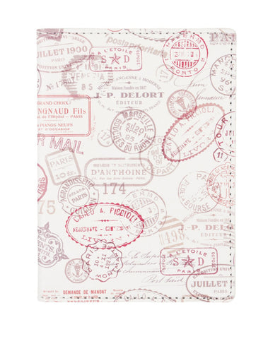 Postage Stamp Passport Case