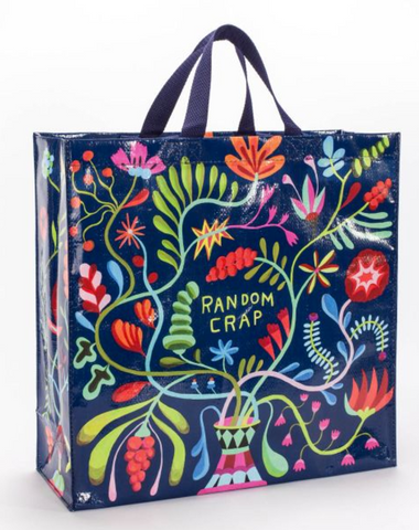 Random Crap Shopper Bag in Colorful Floral