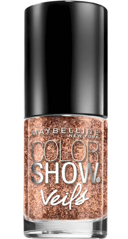 Maybelline Color Show Veils Nail Lacquer Top Coat Nail Polish - Rose ...