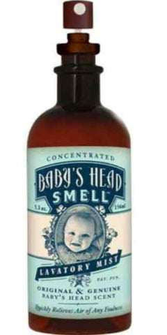 Baby's Head Smell Lavatory Mist Scent