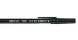 """Smash the Patriarchy"" Black Sparkle Pen Pack - 36 Pens"