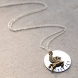The Betty Collection: Stay Fly Pegasus Necklace