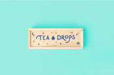 Classic Tea Drops Assortment Wooden Box Tea Gift Set: Citrus Ginger, Matcha, Sweet Peppermint, and Rose Earl Grey - Lightly Sweetened in Drop Form (No Teabags!)