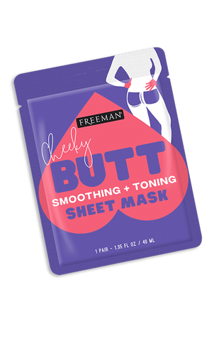 Freeman Cheeky Butt Smoothing + Toning Sheet Mask