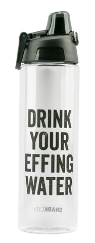 Drink Your Effing Water Water Bottle
