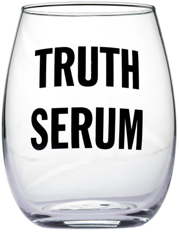 Truth Serum Stemless Wine Glass
