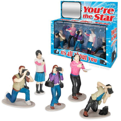 You're The Star Photographers and Autograph-seeking Fans Figure Set