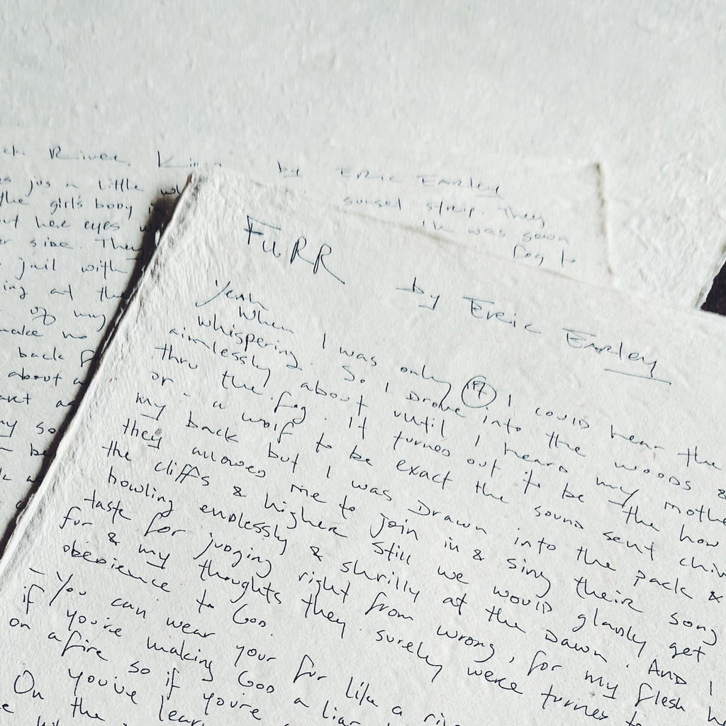 Furr Handwritten Lyric Sheets