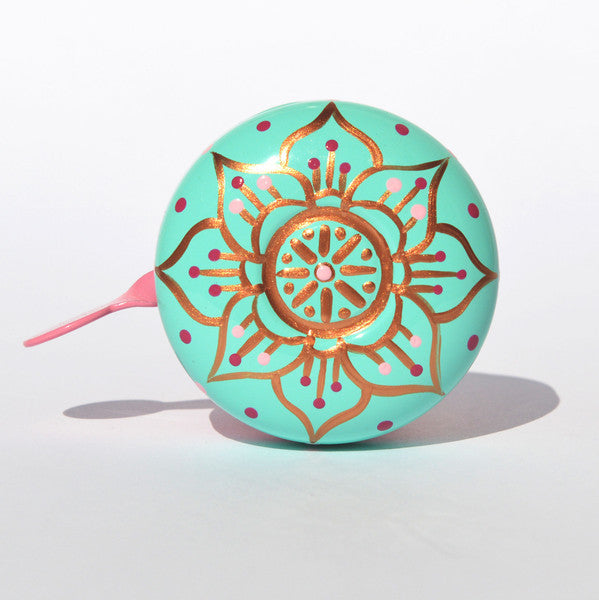 Beep Bicycle Bell - Mandala Flower