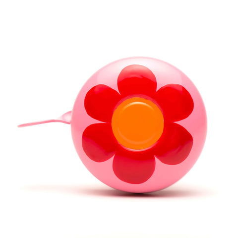 Beep Bicycle Bell - Red Posy Dusty