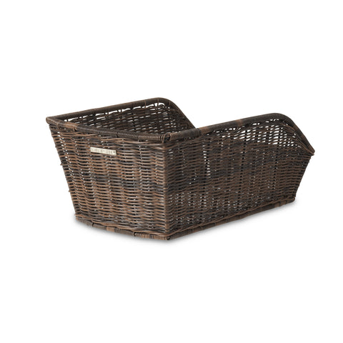 Basil Cento Rattan rear bicycle basket