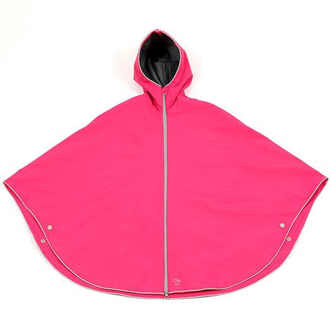 Otto London Urban Poncho - Fuschia