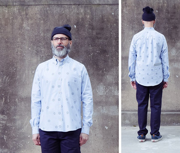 HJUL Oxford Printed Shirt