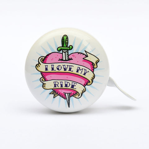 Beep Bicycle Bell - I Love My Ride