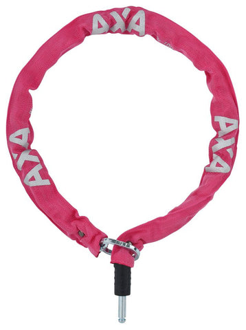 Axa Plug-in chain lock - Pink