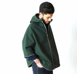 Otto London Urban Poncho - Kombu Green